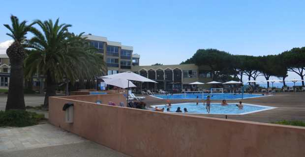 Le village de vacances, Résidence des îles, situé sur la commune de Taglio-Isolaccio en Haute-Corse, géré par Touristra.