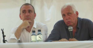 Jean-Christophe Angelini et Saveriu Luciani, conseillers exécutifs de la CTC.