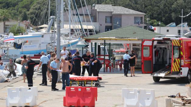 Collision au large du port de Taverna : Un enfant de 12 ans a eu le bras sectionné