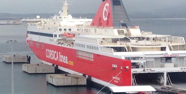 """Corsica Linea : Le """"Jean-Nicoli"""" a repris la mer"""