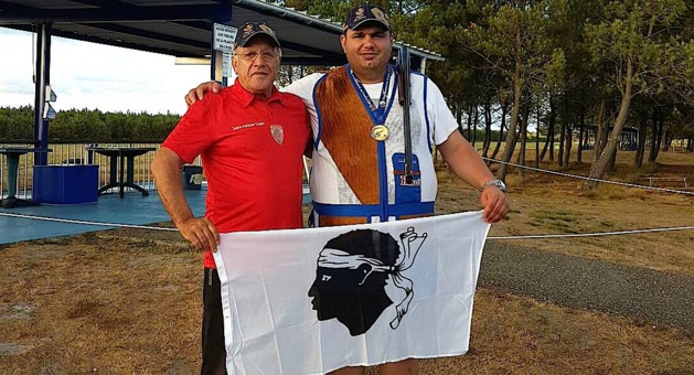 Charles Giovannoni champion de France de Ball-trap !