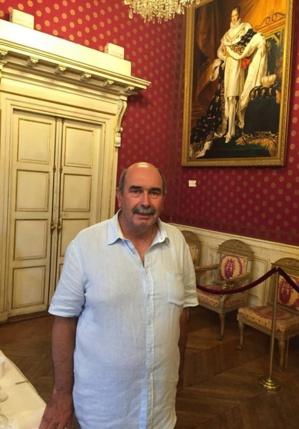 Jean Baptiste Benjamin, secrétaire général du club omnisport de l'ASPTT Ajaccio, et président de la section Tennis.