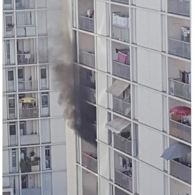 Ajaccio : Feu d'appartement au quartier des Salines