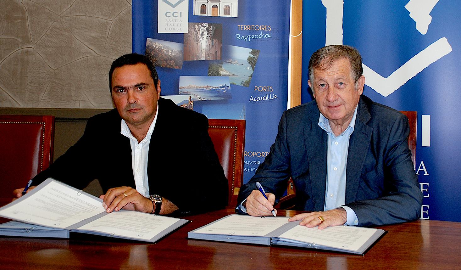 CCI de Haute-Corse et Medef : Une convention au service du développement économique