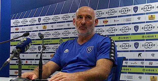 François Ciccolini (SC Bastia) : « Je n'ai rien à reprocher à mes joueurs »