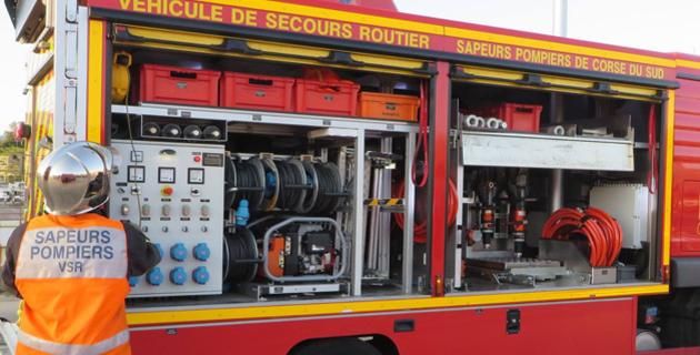 Sarrola : Trois blessés dans un choc frontal entre une voiture et une moto
