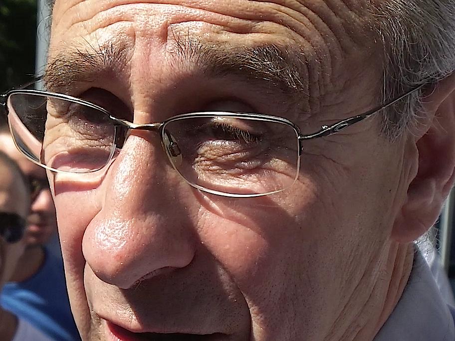Ange-Pierre Vivoni, maire de Sisco