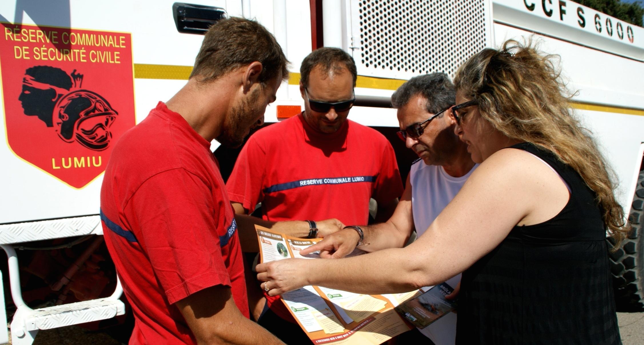 L'action de prévention incendie des réserves communales de Haute-Corse