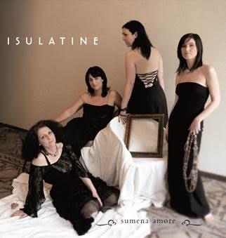 Le groupe Isulatine et Sandrine Luiggi le 18 août à Calvi