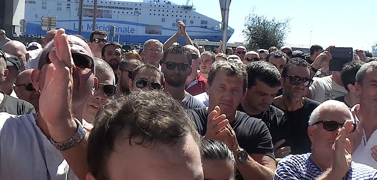Toujours la même tension au lendemain du rassemblement de Bastia