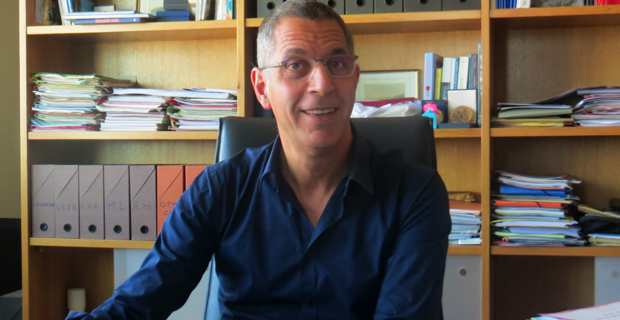 Pierre Savelli, maire de Bastia.