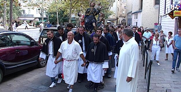 Bastia  : Saint Roch « centre de formation » des confréries de Corse