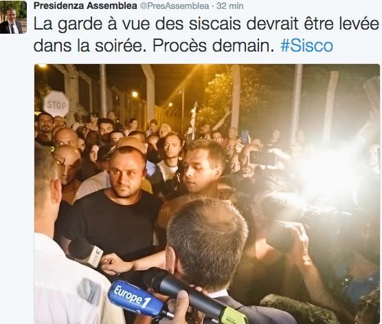 Sisco : Gilles Simeoni et Jean-Guy Talamoni désamorcent la situation…