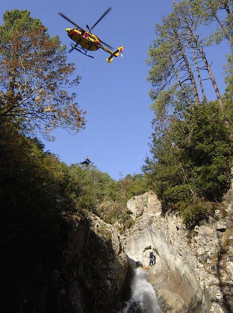 Quenza : Accident de canyoning à La Vacca