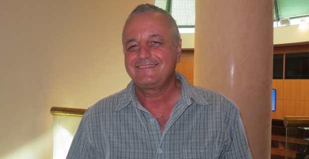 François Alfonsi, président de l'Alliance Libre européenne (ALE), maire d'Osani et membre de l'Exécutif et du Cunsigliu du PNC (Partitu di a nazione corsa).