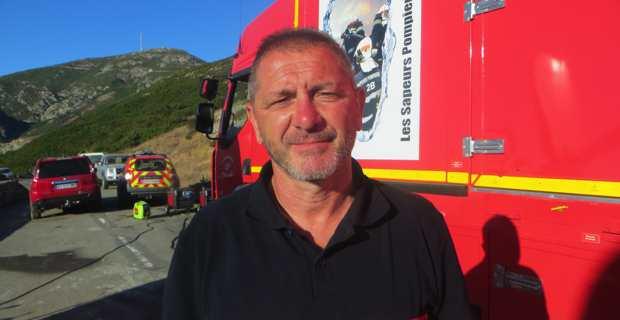 Colonel Charles Baldassari, à la tête du SDIS de Haute-Corse.