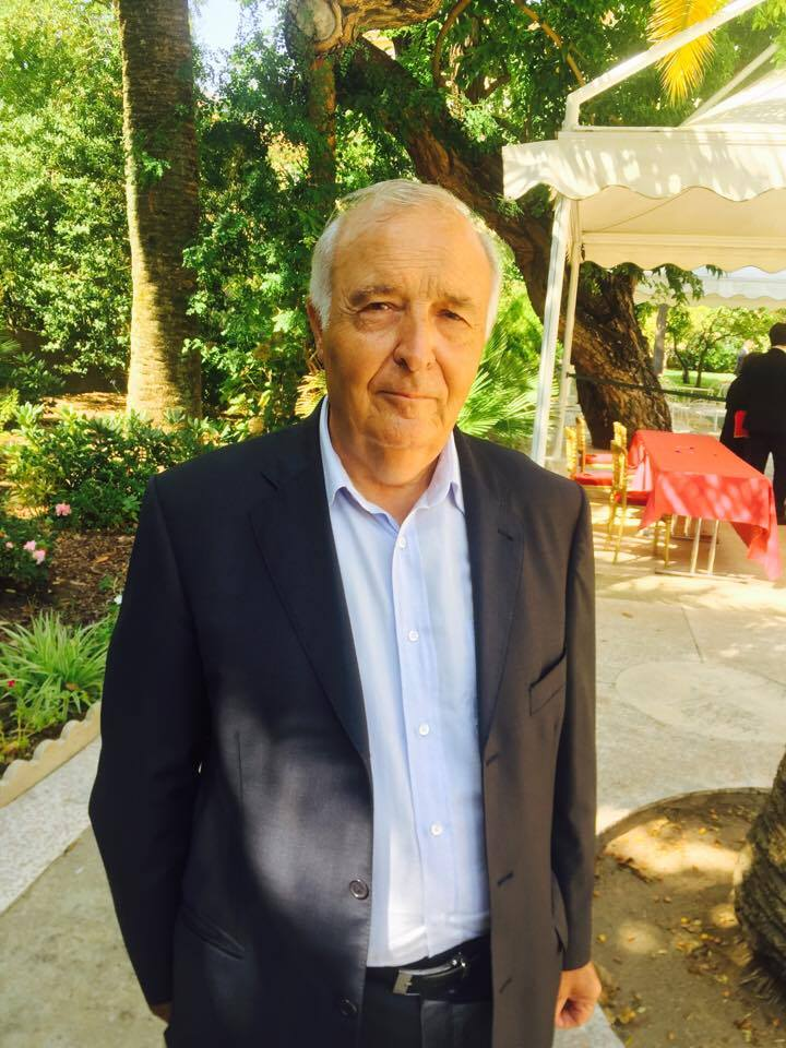 Pierre-Jean Luciani, président du Conseil départemental de Corse-du-Sud.