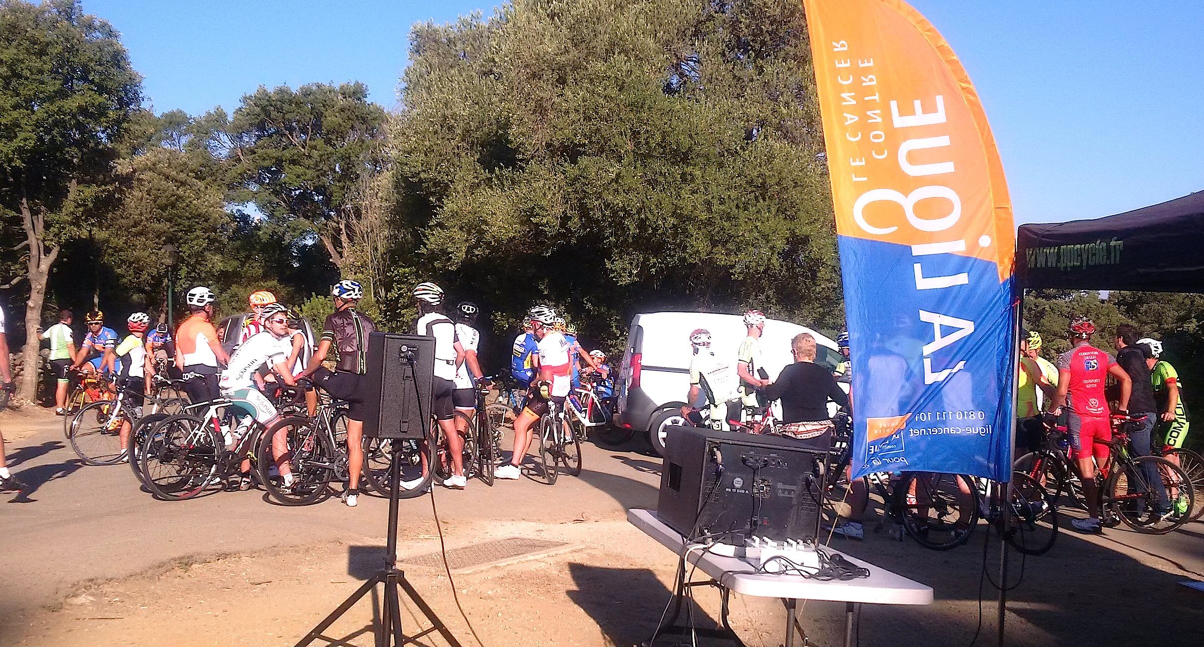 Cyclisme : L'Etoile cycliste bastiaise roule pour les malades du cancer