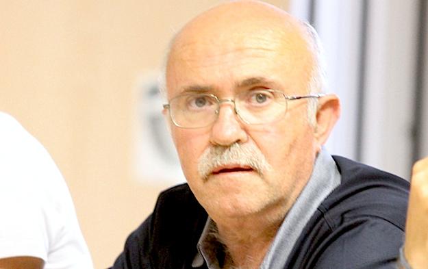 Francis Giudici maire de Ghisonaccia.
