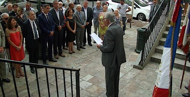Hommage à Jean Nicoli à Bastia