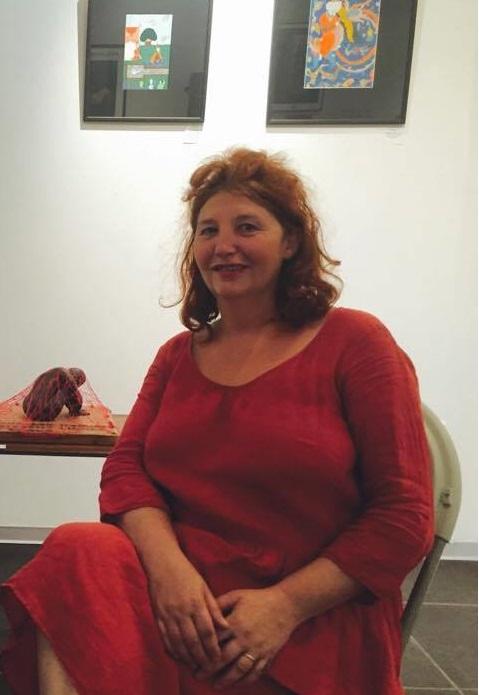 Interview de Odile Pierron, artiste et responsable de la Galerie aux Arts etc.