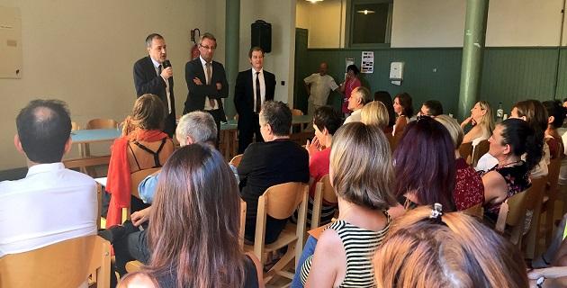 Après les 3 665 enseignants, le recteur et le président de l'assemblée de Corse accompagent les élèves