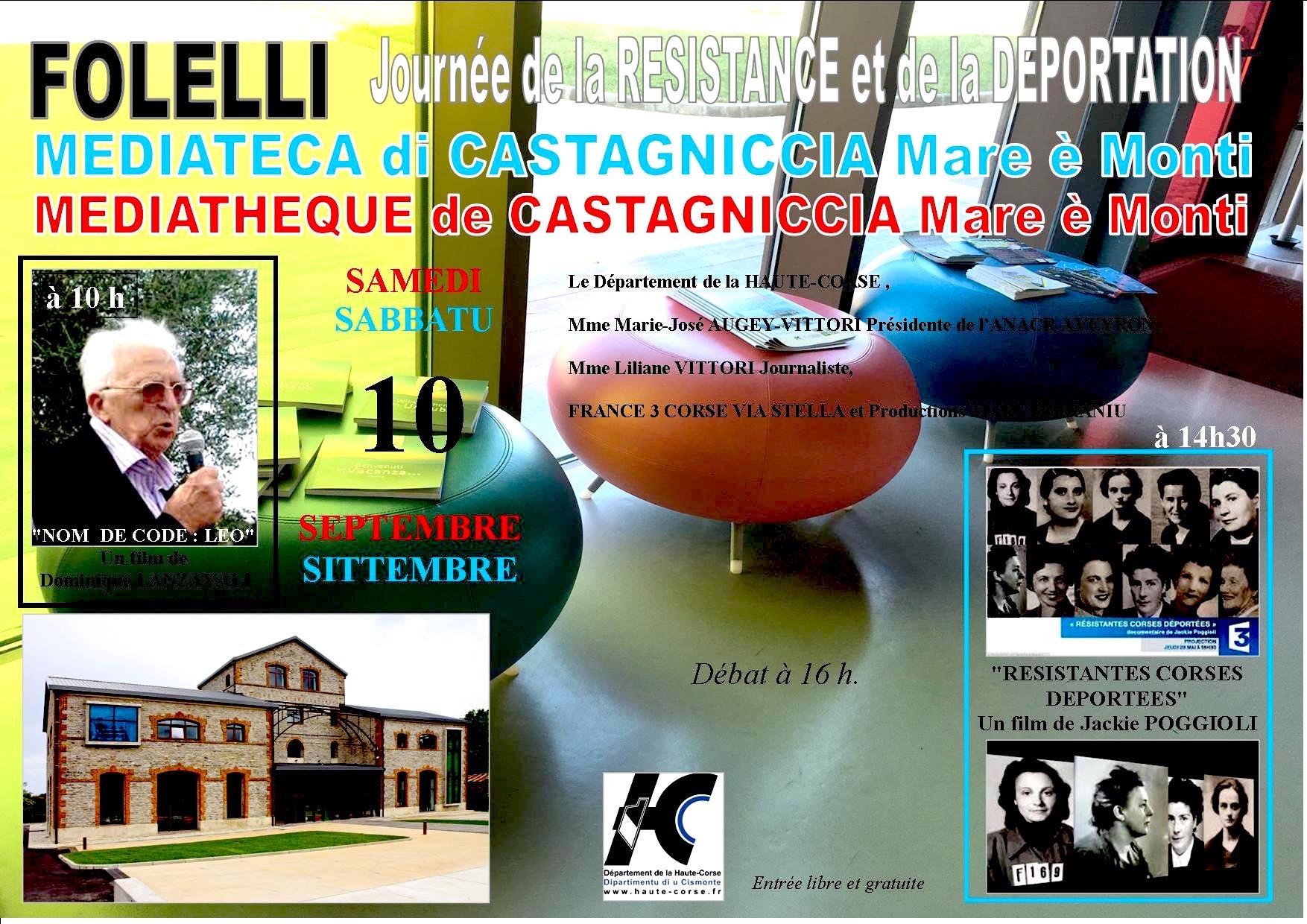 Folelli : Pour découvrir ou revisiter autrement la Résistance et la Libération de la Corse