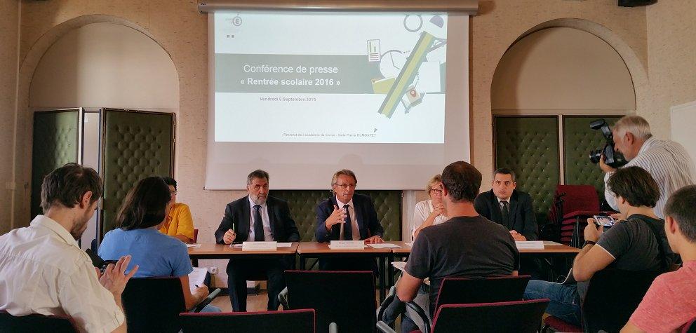 Rentrée à l'Académie de Corse : Beaucoup de changements cette année