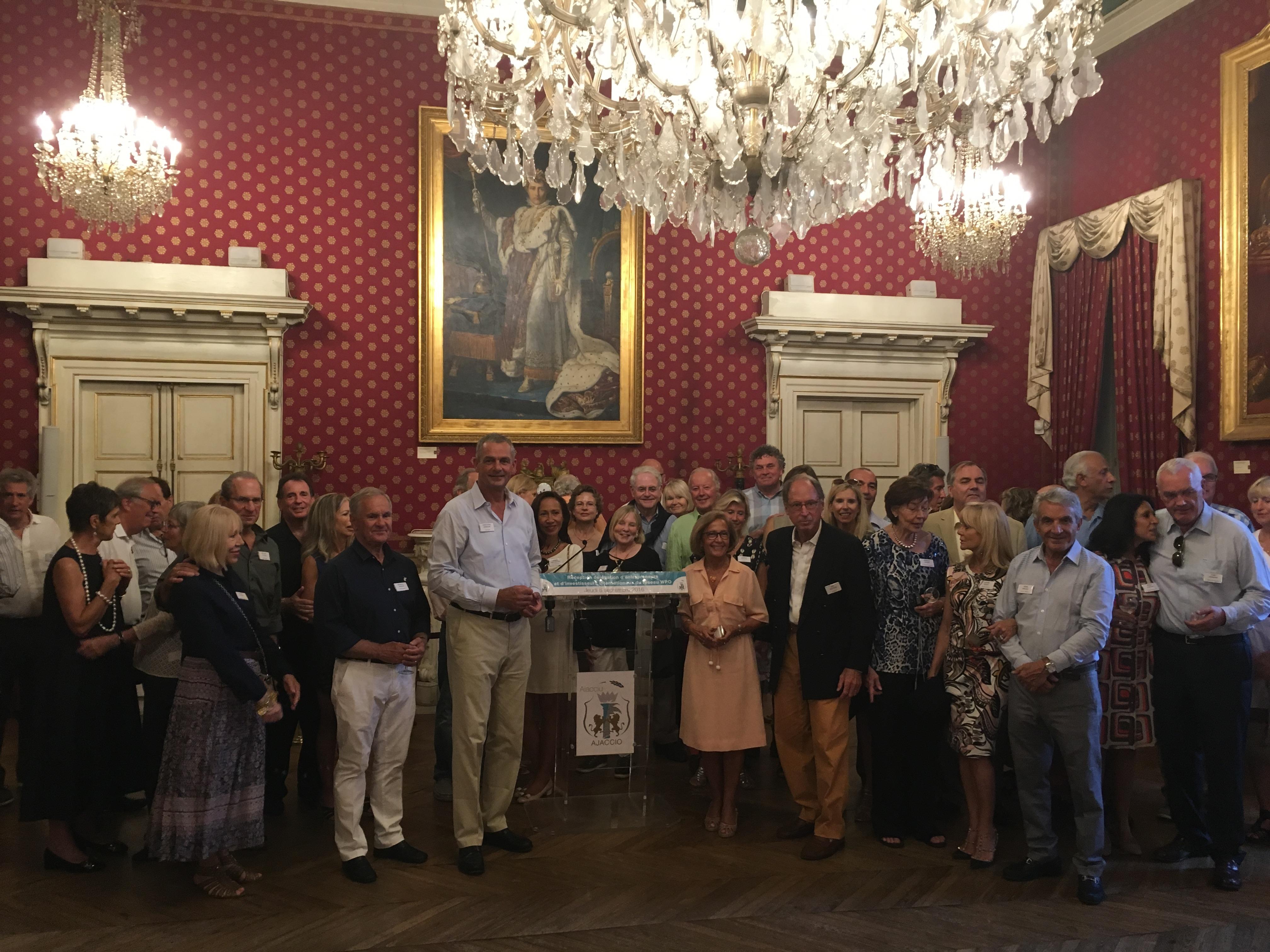 Des entrepreneurs et investisseurs internationaux accueillis à Ajaccio