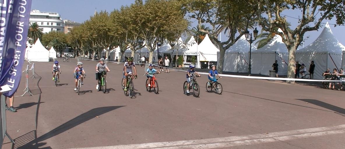 Le vélo ouvre la Fête du sport à Bastia