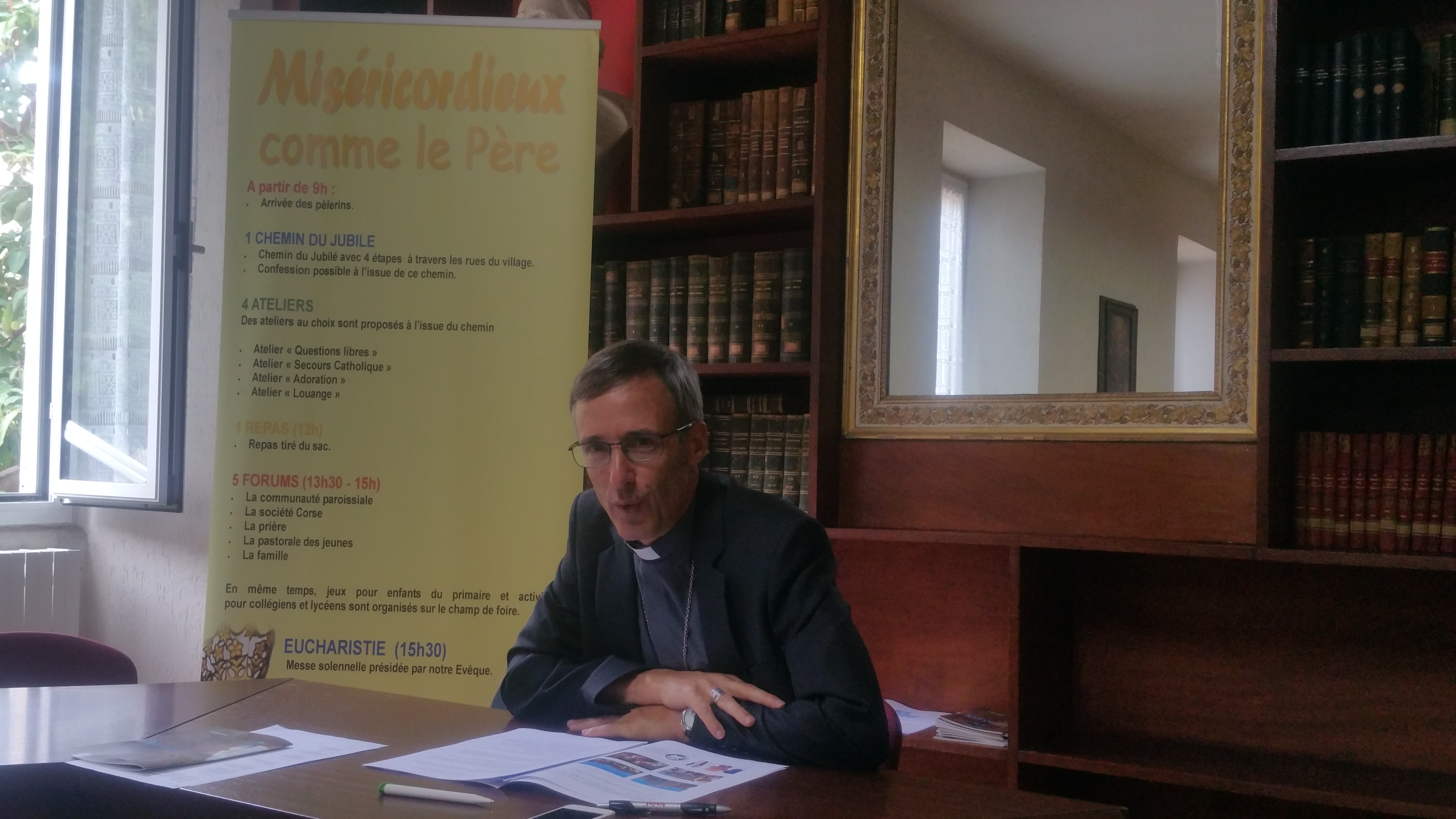 Une journée diocésaine à Casamaccioli pour témoigner en Corse de la puissance de la Miséricorde