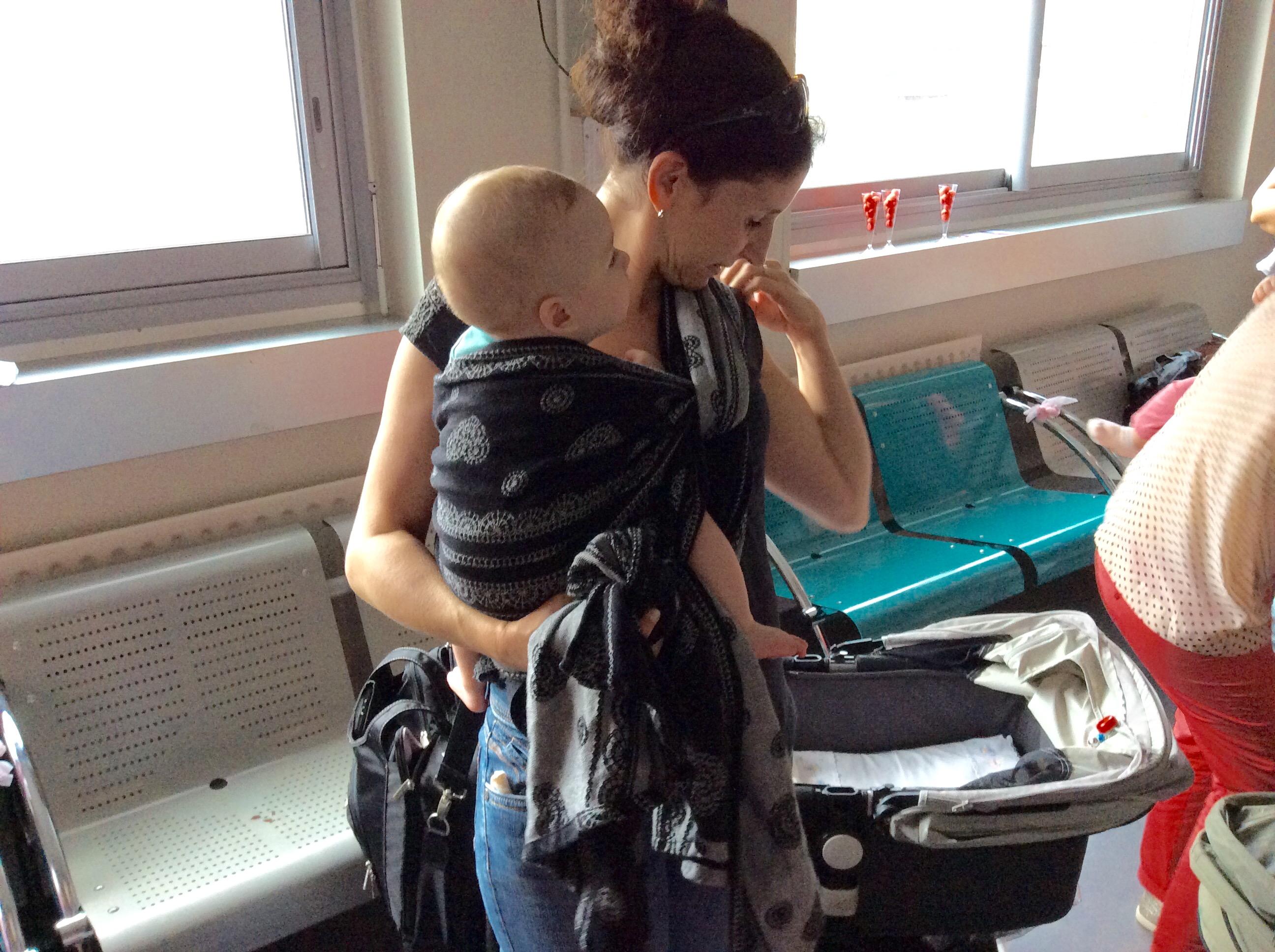 Bastia : Le service de maternité fête le 1er anniversaire de son atelier de portage physiologique
