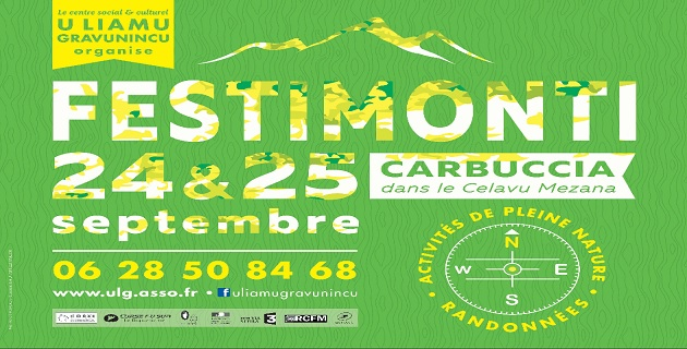 La 15ème édition de Festimonti  à Carbuccia