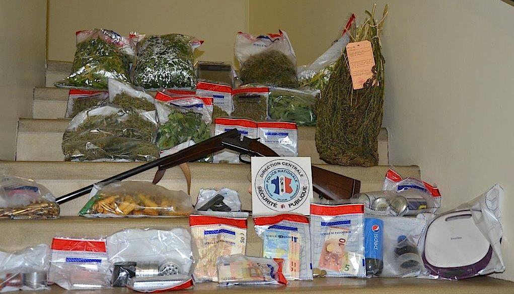 Bastia : Stupéfiants, armes et argent saisis après l'interpellation de 13 personnes