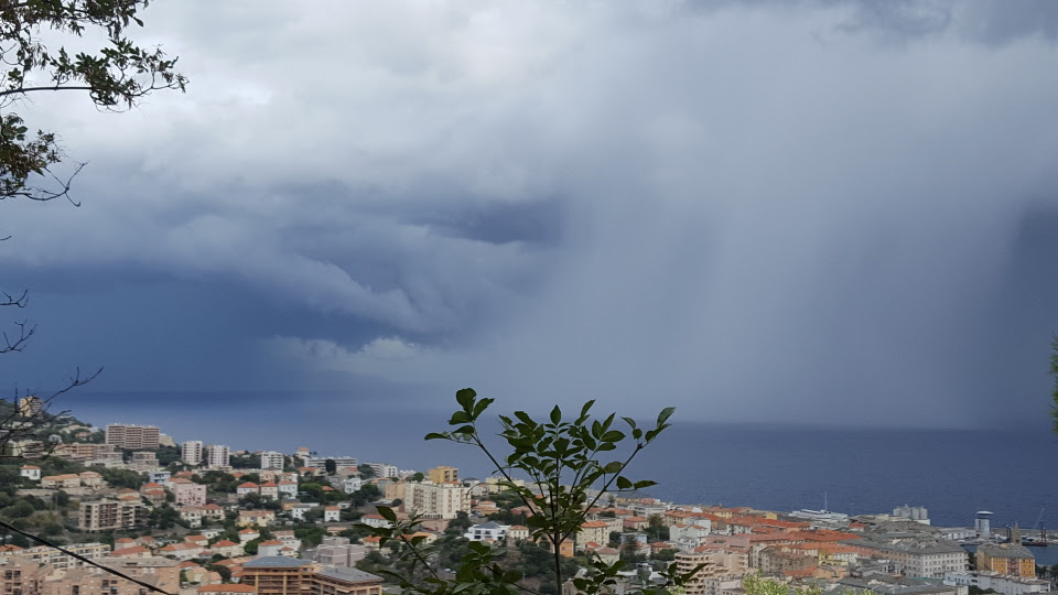 Bastia : La pluie et le beau temps…