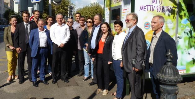 Qualité de l'air à Ajaccio : Une station de mesure inaugurée place Abbatucci