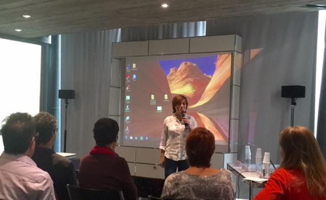 Josepha Giacometti, Conseillère exécutive de Corse déléguée à la culture, au patrimoine, à l'éducation, à la formation, à l'enseignement supérieur et à la recherche a été conviée afin d'assurer le message de bienvenue