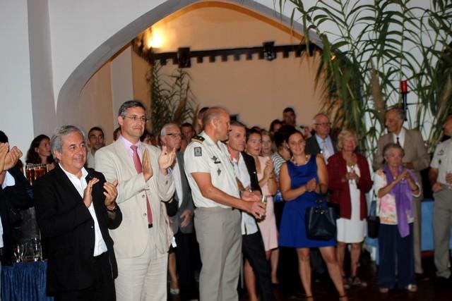 Cocktail de rentrée du 2e REP de Calvi à la caserne Sampiero