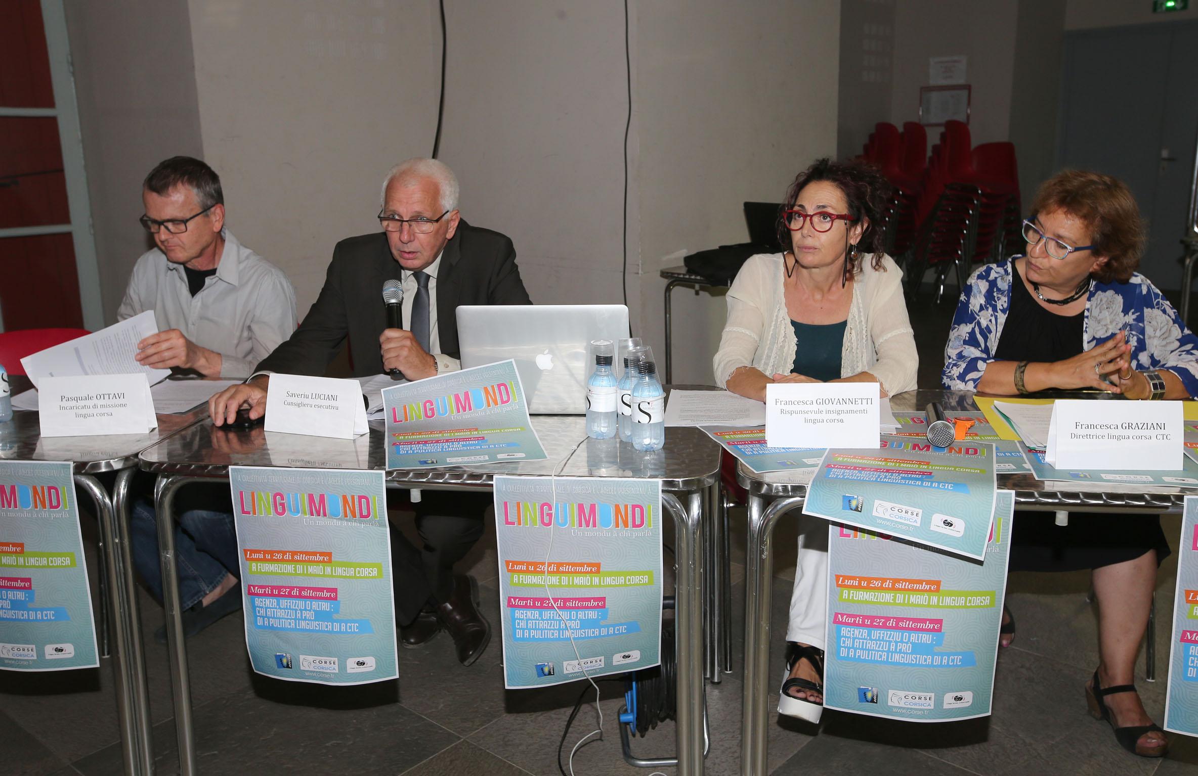 Linguimondi 2016 : La langue corse résonne à Cervioni