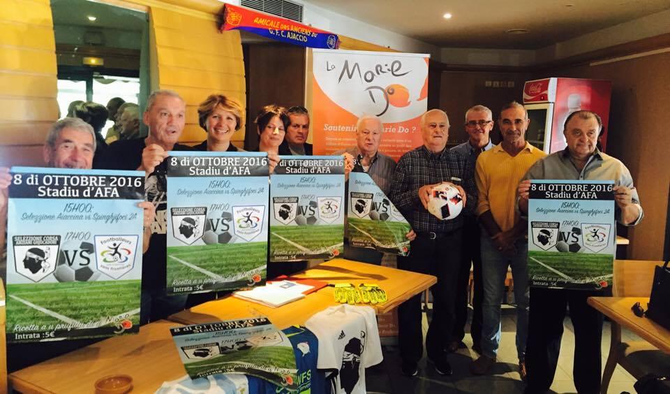 10ème anniversaire de la Marie-Do : Deux matchs de football au sommet pour une journée caritative