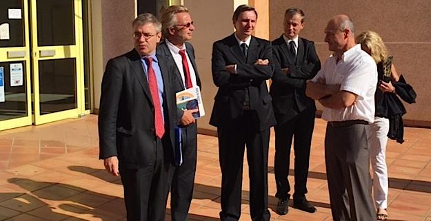 Sécurité : le recteur et le préfet sillonnent les écoles de Haute-Corse