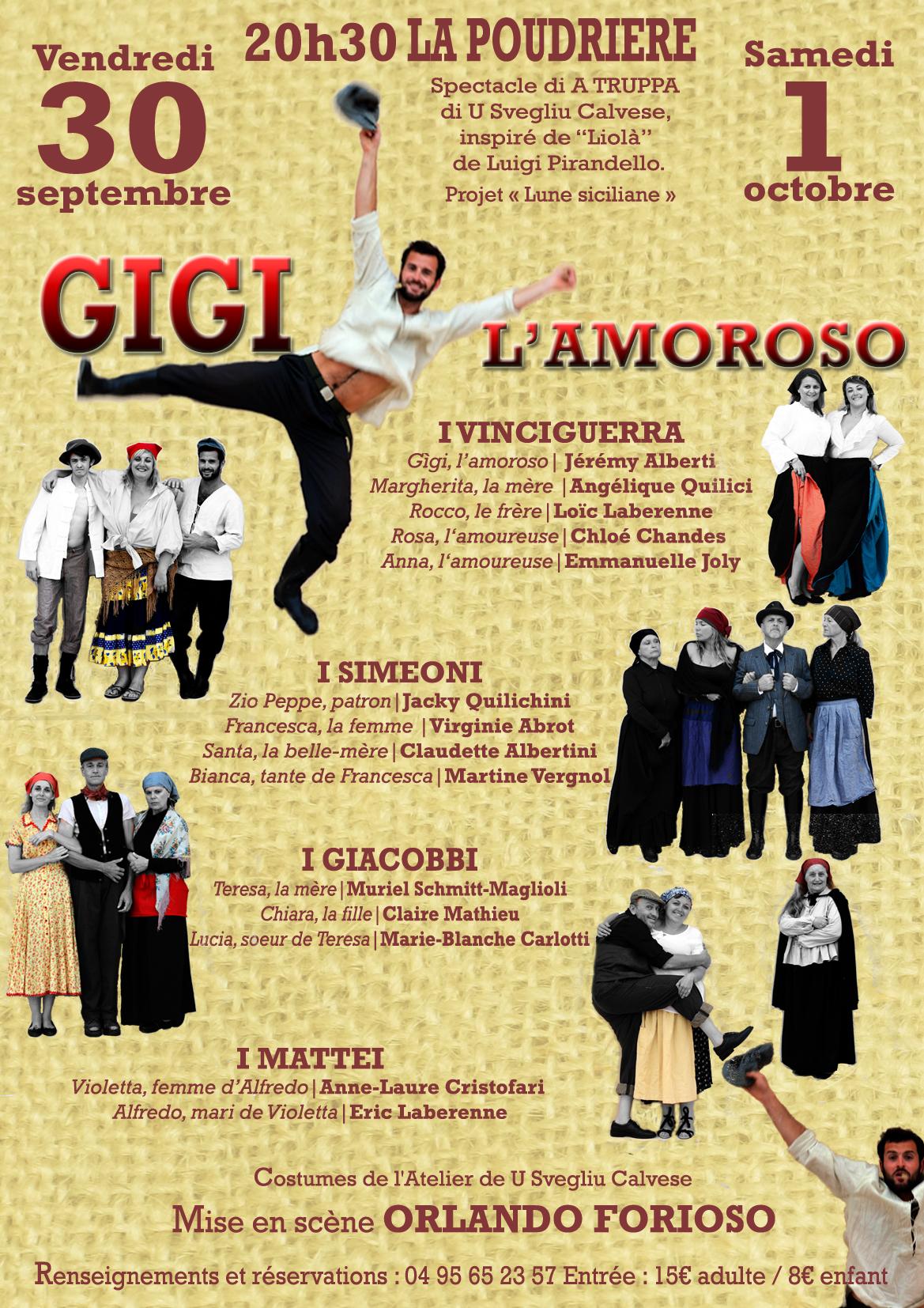 """""""Gigi l'Amoroso"""" avec """"A truppa di u Svegliu Calvese"""""""