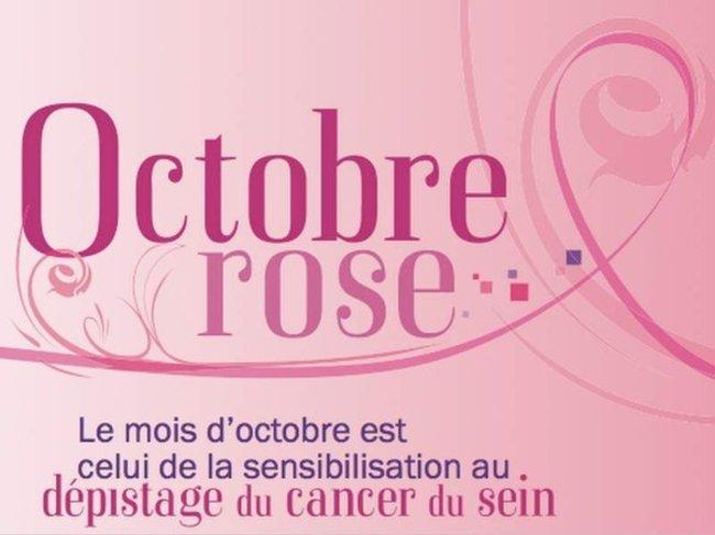 """Octobre Rose 2016 : """"Du rose plein les yeux pour dire non au cancer du sein"""""""