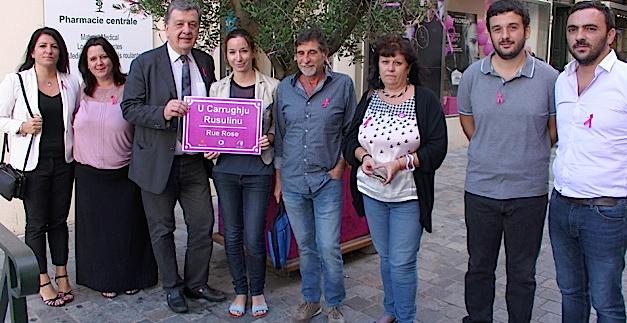 Bastia se drape de rose pour la bonne cause…