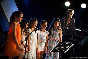 Chorale d'enfants au Centru musicale U Timpanu de Calvi