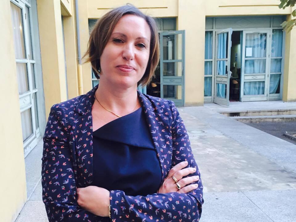 Marie Laure Cera-Paoli, professeur en charge de la participation au Prix Goncourt des lycéens.