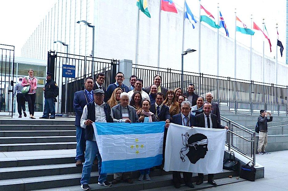 Avec la délégation de Polynésie