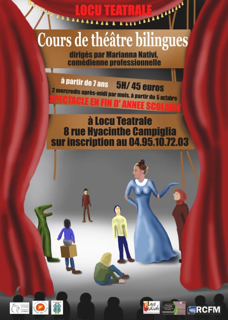 Locu Téatrale: Reprise des cours bilingues pour enfants