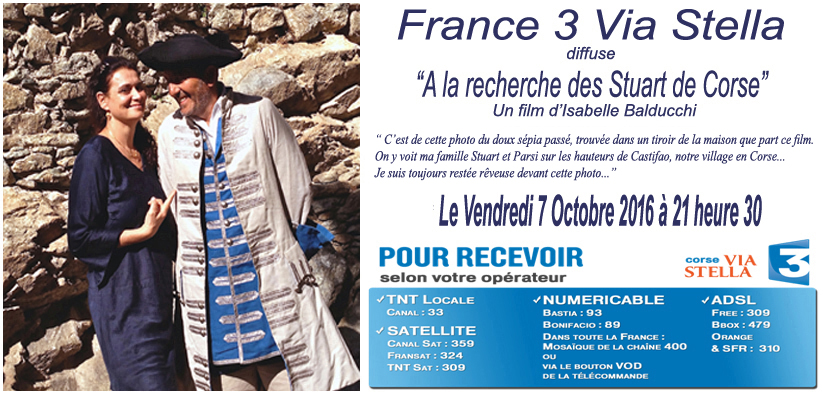 """""""A la recherche des Stuart de Corse"""""""