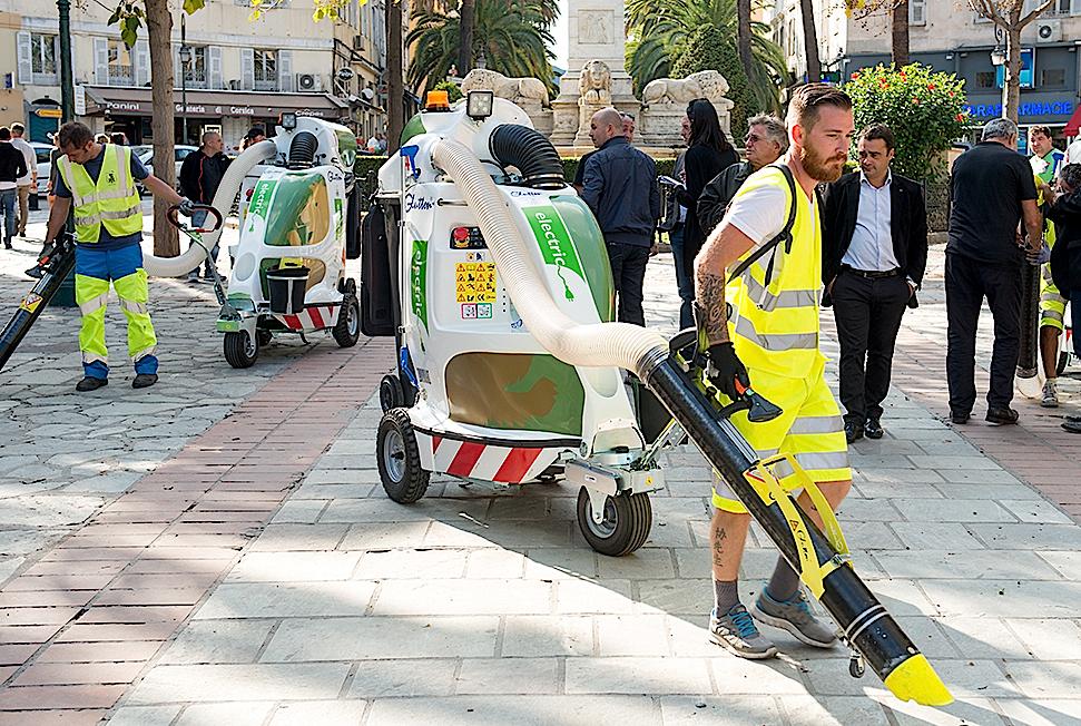 Les aspi Glouton en service à Ajaccio : Un équipement moderne, efficace et écolo